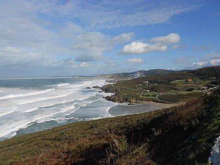 Sea, Nature, High Tide, Vegetation, Maritime Landscape