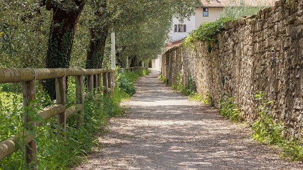 Away, Path, Hiking, Promenade, Just, Light, Shadow