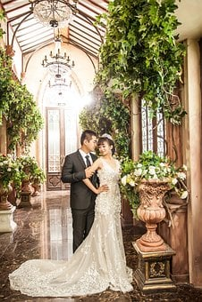 Love, Wedding, Home, On, White Dress, Bride, Clot