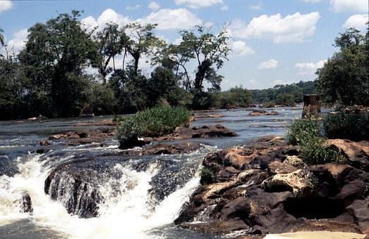 Brazil, Iguazu, Iguazú Waterfalls, Waterfall, Nature