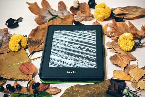 Kindle, Pepper White, Reading, Technology, Digital