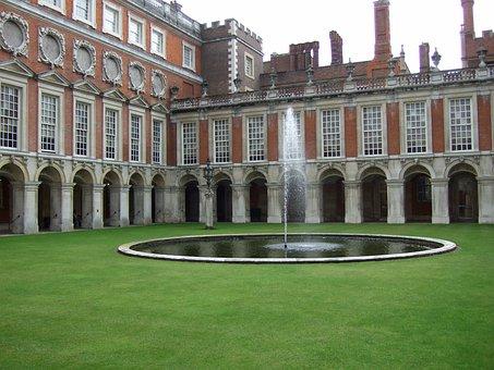 Palace Courtyard, Quadrangle, Palace, Architecture