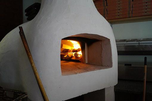 Pizza Oven, Pizza, Oven, Wood Burning Stove, Pizzeria