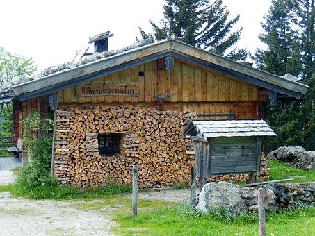 Roßfeld, Berchtesgaden, Bavaria, Mountains, Toll Road