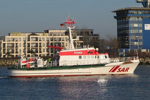 Ship, Distress, Seenotrettungskreuzer, Berlin, Dgzrs