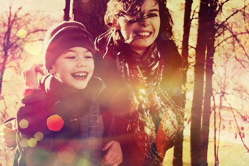Baby, Smile, Mom, Mother And Son, Family, Joy, Smiles