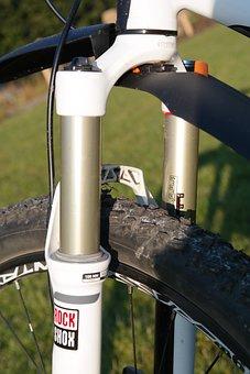 Suspension Fork, Mountain Bike, Bike, Suspension, Wheel