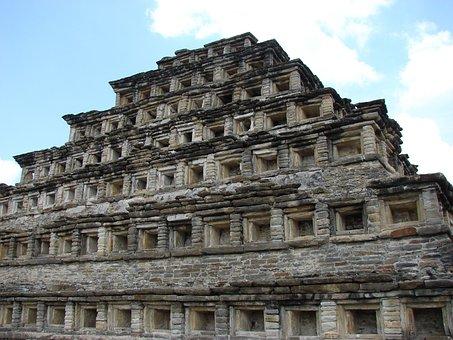 Mexico, Pyramid, Tajín, Tajin