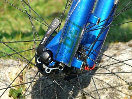 Quick Release, Wheel, Bike, Mountain Bike, Cycle
