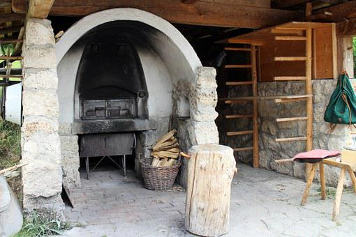 Oven, Stone Oven, Charcoal Oven, Wood, Bread Oven