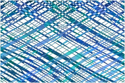 Pattern, Geometric, Futuristic, Web, Network
