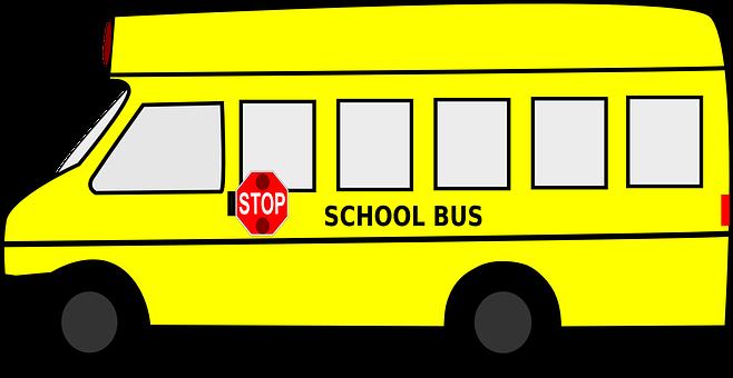 School Bus, Bus, Students, Pupils, Transportation