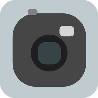 Camera, Photo, Flat, Simple, Images, App-icon, Icon