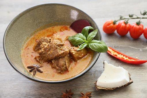 Massamun Beef, Thai Curry, Coconut Milk, Beef