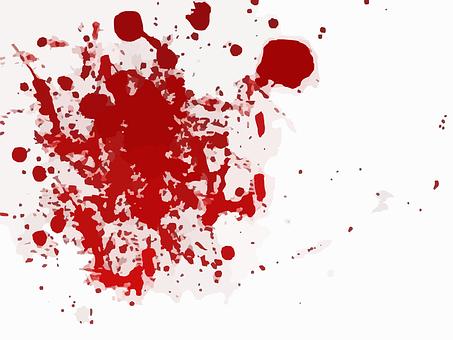 Splashes, Scarlet, Red, Paint, Splatter, Splash, Blood