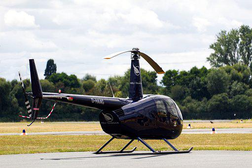 Helicopter, Flying, Aircraft