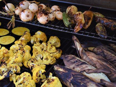 Grilled Vegetables, Barbeque