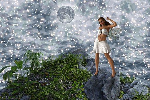 Fantasy, Mythical, Girl, Fairy Tale