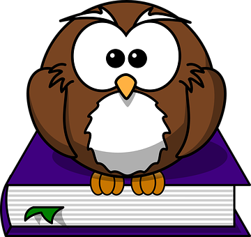 Literature, Library, Reading, Owl, Book