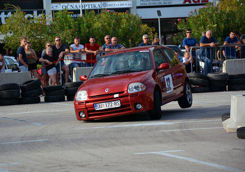 Race Car, Race, Renault Clio, Motorsport, Racing