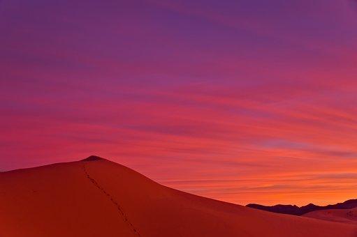 Coral Pink Sand Dunes, Utah, Sunset