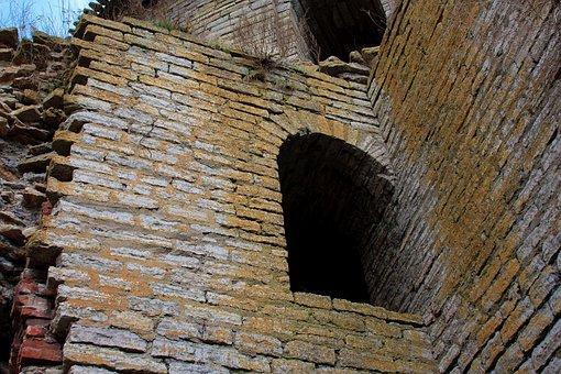 Fortress, Window, Wall, Masonry