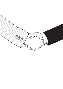 Friendship, Cooperation, Company, Hands, Handshake