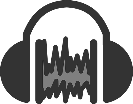 Audio, Sound, Headset, Icon, Symbol