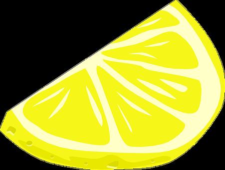 Lemon, Wedge, Citrus, Slice, Food, Yellow, Plant, Yummy