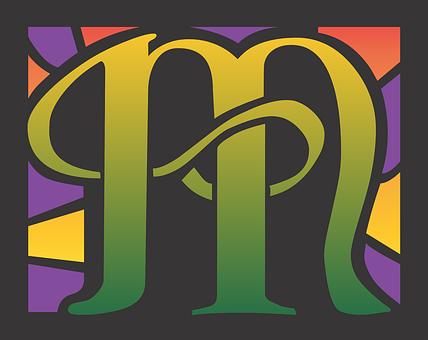 M, Letter, Letter M, Alphabet, Text, Font, Design