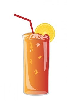 Glass, Orange, Juice, Orange Juice