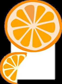 Slice, Fruit, Orange, Wedge, Vitamin, Citrus, Slices