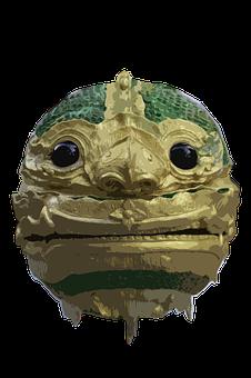 Face, Monster, Thailand, Thai, God, Temple, Animal