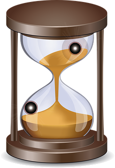 Clock, Sand, Time, Passage Of Time