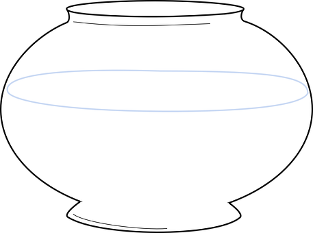 Bowl, Fish Tank, Empty, Aquarium, Fishbowl