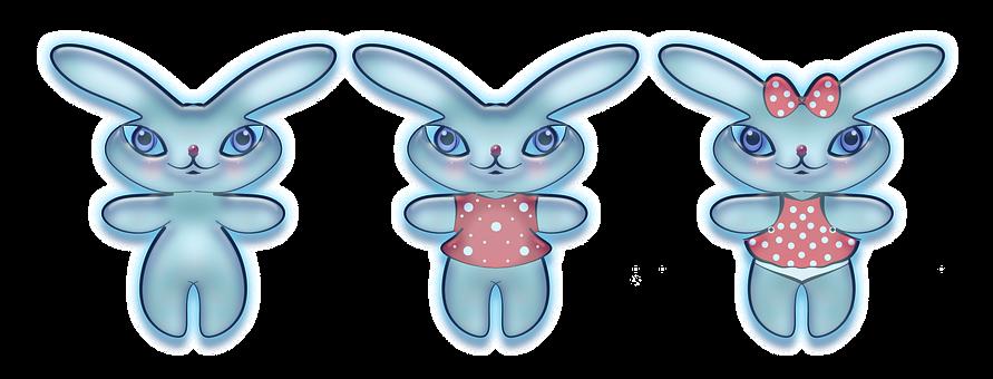 Bunny, Figure, Image, Design, Cheerful, Art