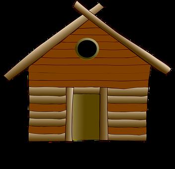 Log Cabin, Cottage, House, Wood, Home, Wooden, Rural
