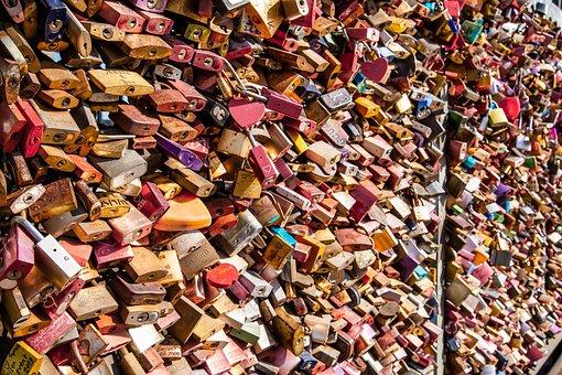 Castles, Key, Valentine'S Day, Lovers