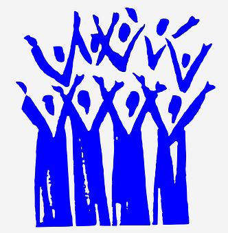 Choir, Sing, Cheer, Joyfull, Voices, Vocals, A Capella