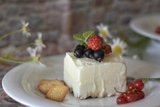 Parfait, Semifreddo, Cold, Cream, Yogurt, Berries
