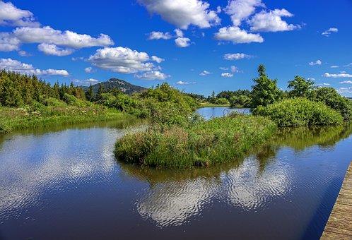 Cardaire, Barthes, Lake, Pond, Nature, Landscape