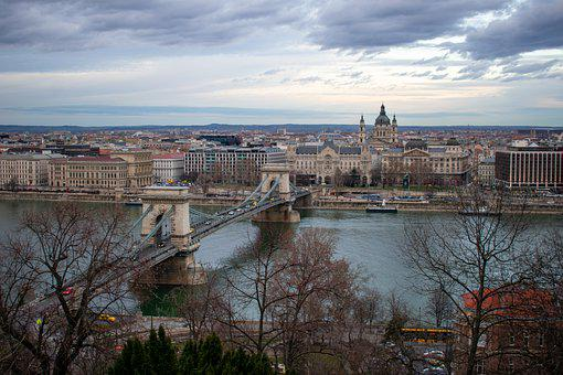 Budapest, Hungary, Castle, View, City