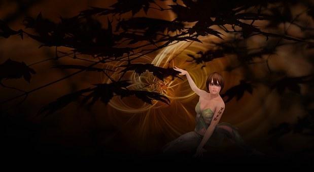 Amazone, Fantasy, Fairy Tales, History, Light, Mystical