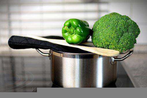 Paprika, Broccoli, Vegetables, Food, Healthy, Nutrition