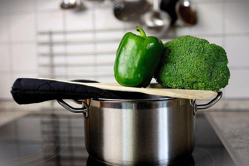 Paprika, Broccoli, Vegetables, Food