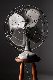 Fan, Old, Iron, Vintage, Decoration, Retro, Decorative