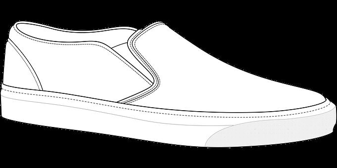 Shoes, Fashion Sketch, Fashion Vector