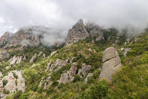 Rock, Crimea, Travel, Rocks, Landscape, Nature, Summer