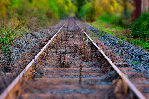 Track, Railway, Rails, Traffic, Train, Steel, Metal