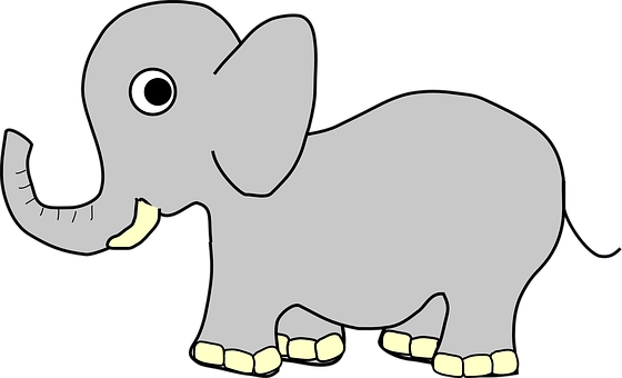 Elephant, Young, Baby, Wildlife, Mammal, Wild, Animal